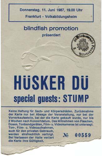 Hüsker Dü 1987