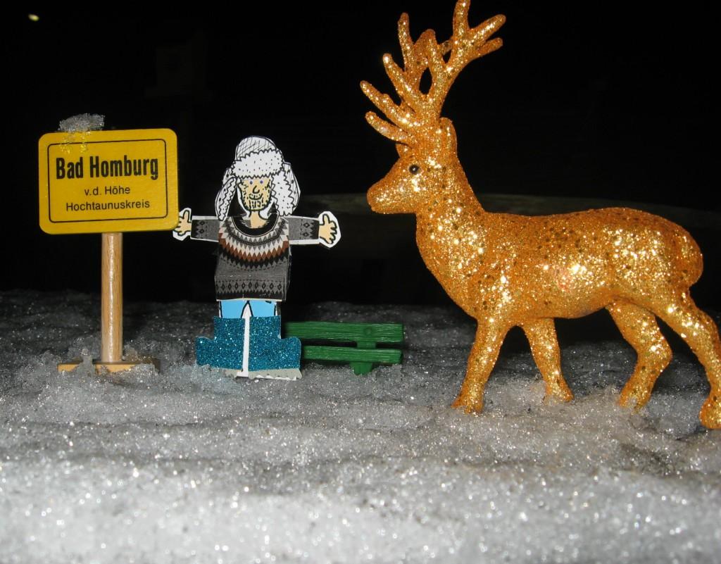wintergruss aus bad homburg aloisius mit hirsch 04 01 2015