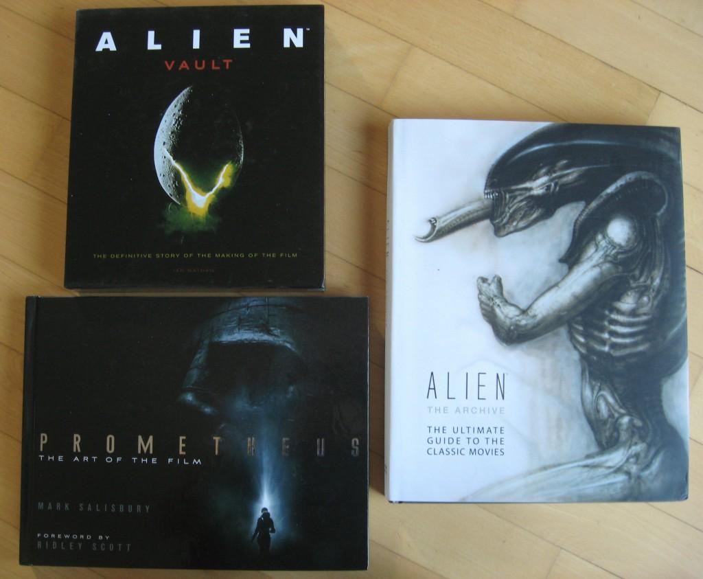 alien und prometheus bildbande