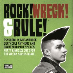 ROCK WRECK rule lp cover