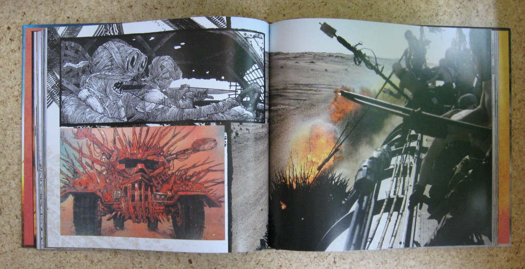 the art of mad max fury road abbie bernstein inside