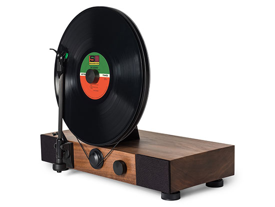 Vertical-Turntable