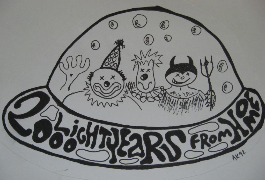 clowns und satan im UFO 1992