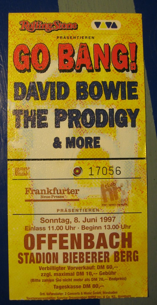 bowie go bang festival offenbach 08 06 1997