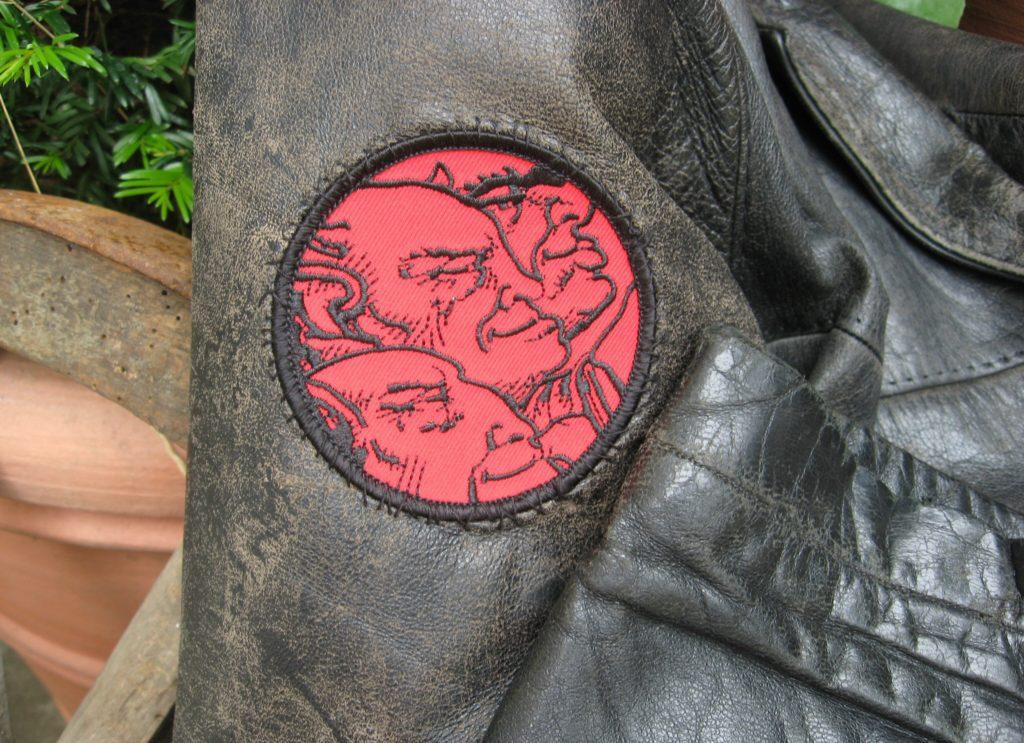 roky erickson drei-dämonen-logo aufnäher patch