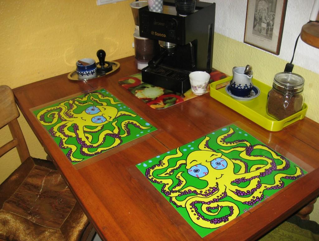 putzige Tischsets
