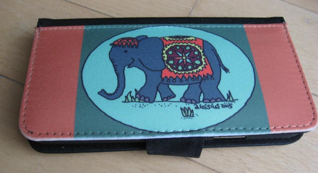 smartphonehülle elefant schräg
