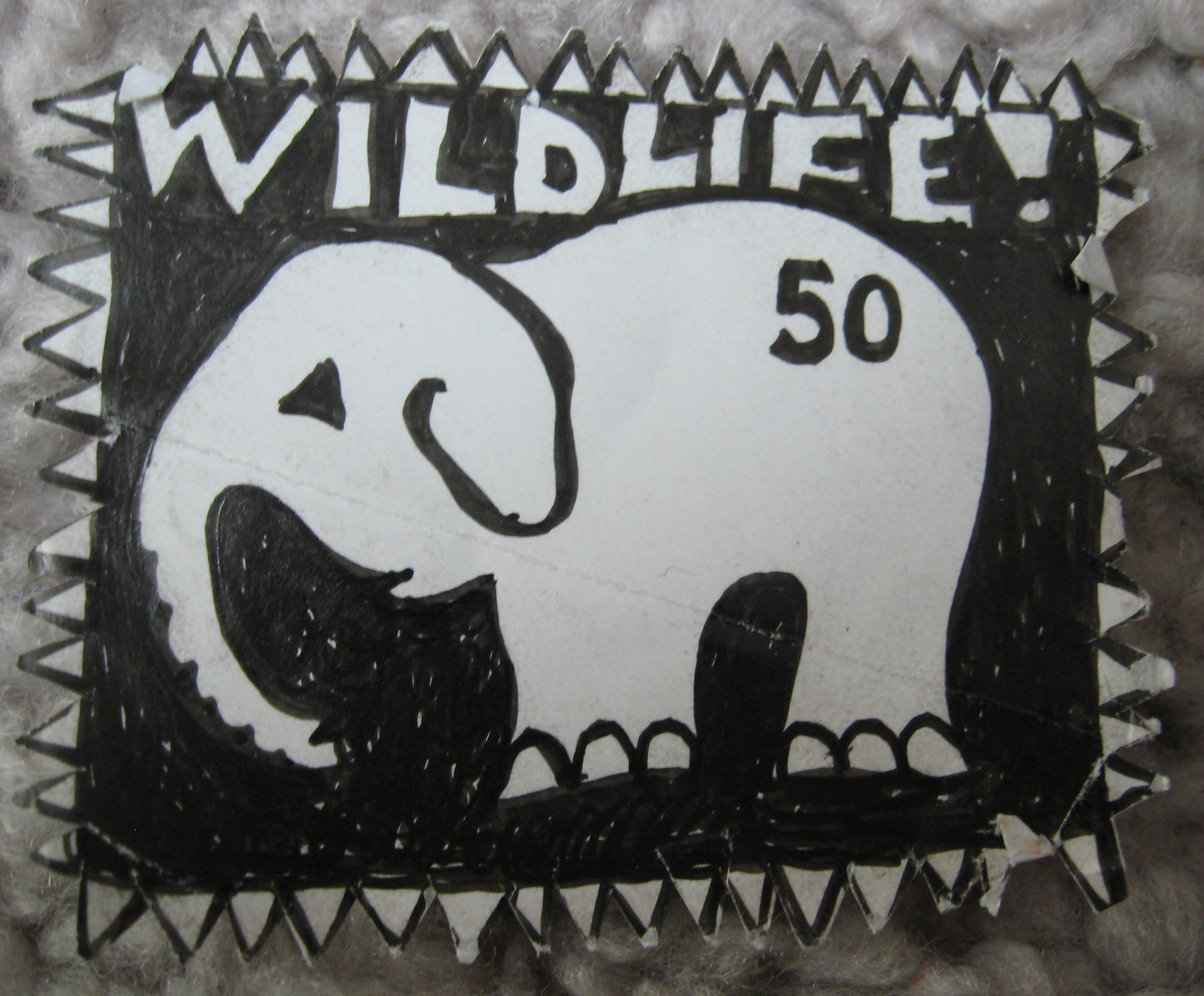 circa 1992 briefmarke wildlife