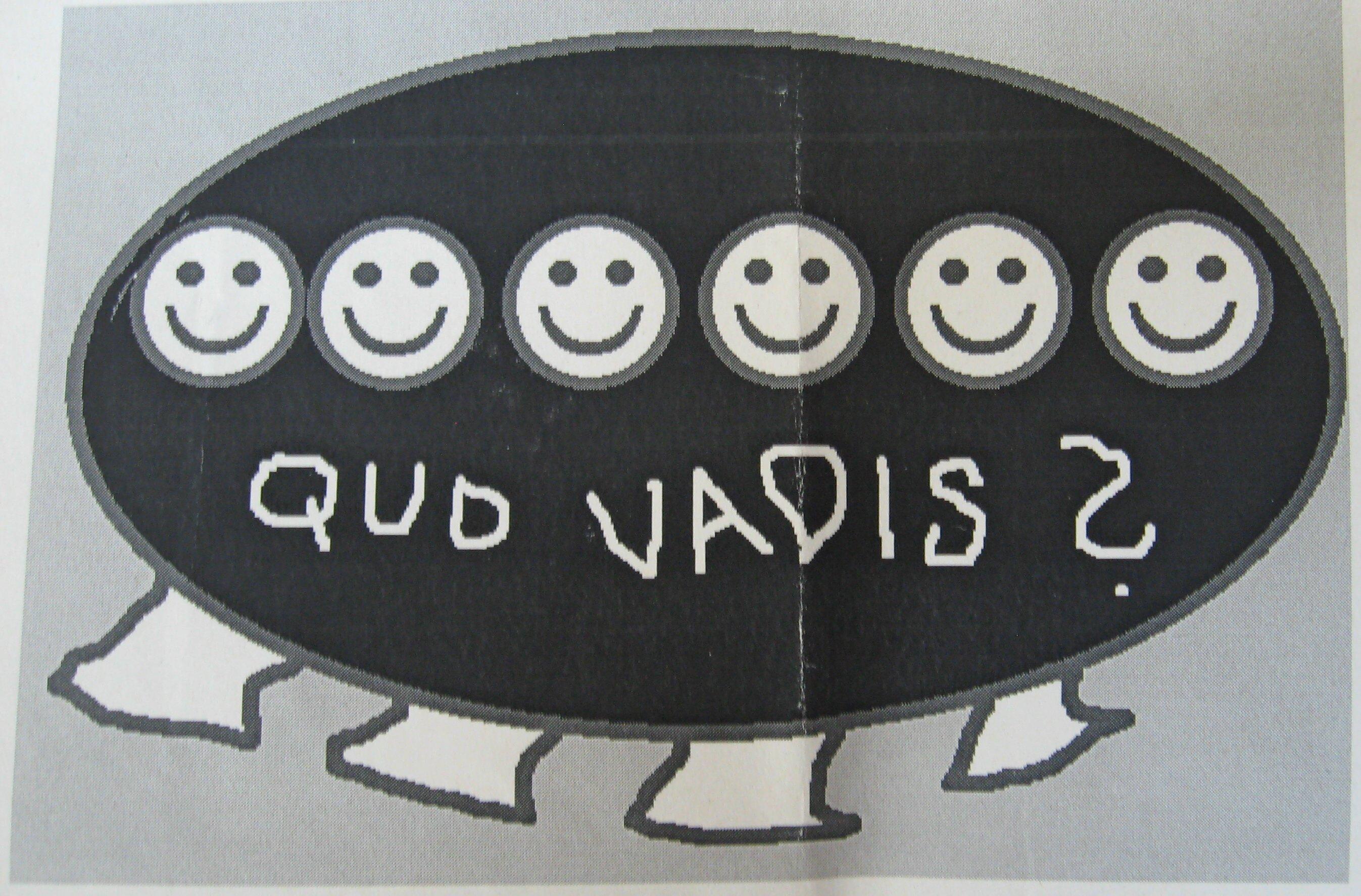 circa 1992 quo vadis erste versuch auf paint