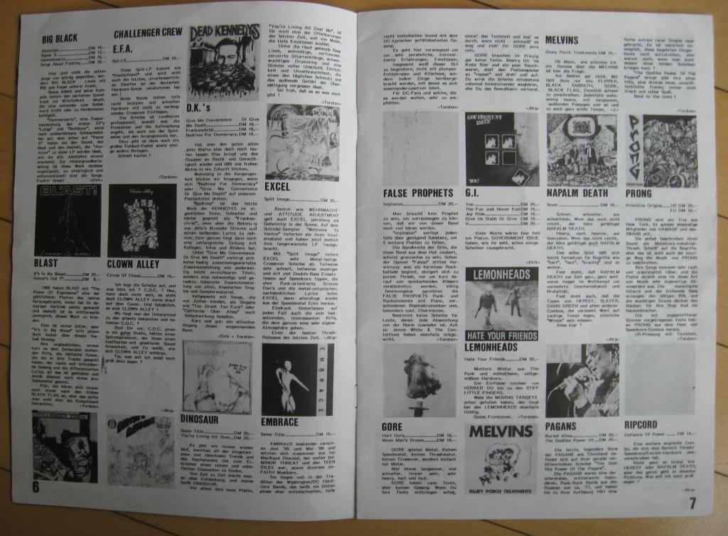 funhouse records 11 1987 aufgeschlagen seite 6 seite7