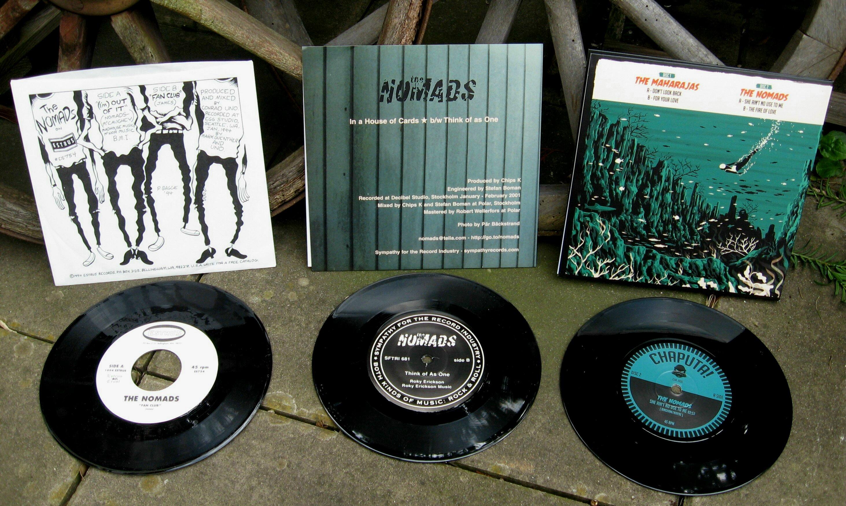 nomads drei singles hinten und inhalt