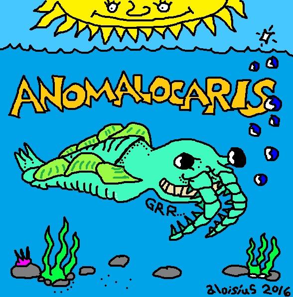 anomalocaris 222 aloisius 2016